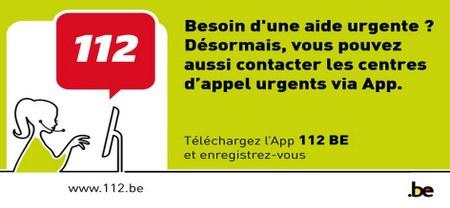 L'APP  112 BE
