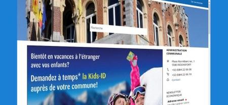 Nouveau site web communal pour la Ville de Rochefort