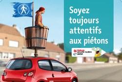 Sécurité routière : 4 accidents de piétons par jour