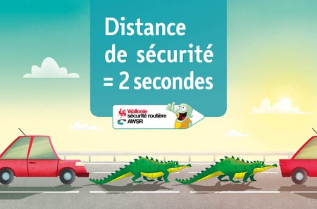 Sécurité routière : La distance de sécurité