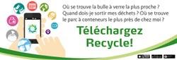 Téléchargez l'application Recycle, c'est simple !