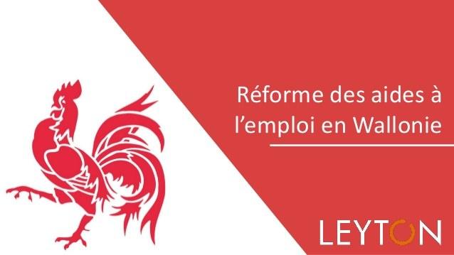 belgique la rforme des aides lemploi en wallonie 1 638